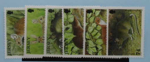 Jersey Stamps, 2007, SG1304-1309, Mint 3
