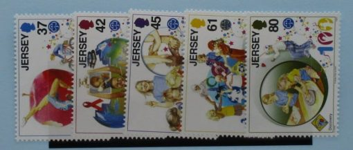 Jersey Stamps, 2010, SG1476-1480, Mint 3