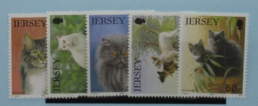 Jersey Stamps, 1994, SG650-654, Mint 3