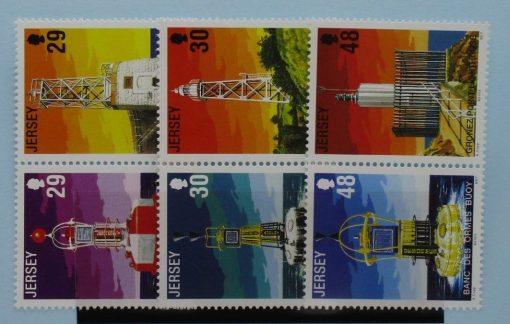 Jersey Stamps, 2003, SG1086a, SG1088a, SG1090a, Mint 3