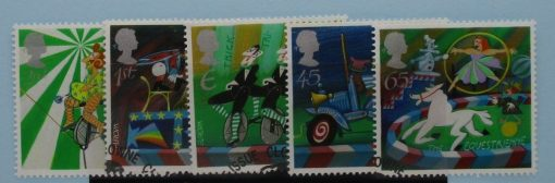 Great Britain Stamps, 2002, SG2275-2279, Used 3
