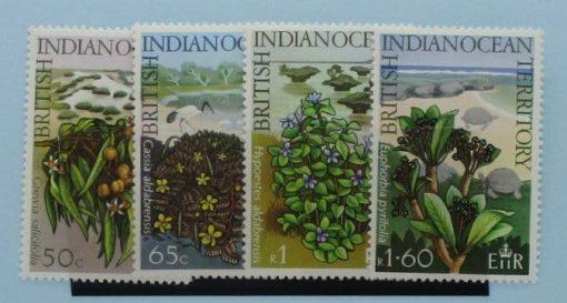 British Indian Ocean Territory Stamps, 1975, SG77-80, Mint 3
