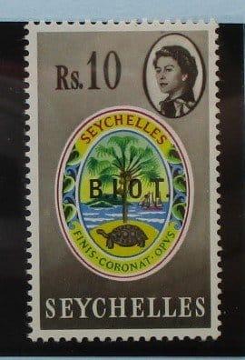 British Indian Ocean Territory Stamps, 1968, SG15, Mint 3