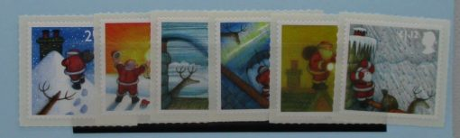 Great Britain Stamps, 2004, SG2495-2500, Mint 3