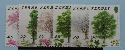 Jersey Stamps, 2012, SG1667-1672, Mint 3