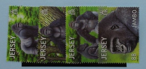 Jersey Stamps, 2012, SG1689-1692, Mint 3
