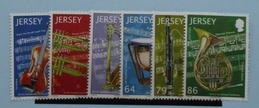 Jersey Stamps, 2011, SG1630-1635, Mint 3