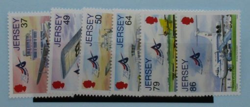 Jersey Stamps, 2012, SG1643-1648, Mint 3