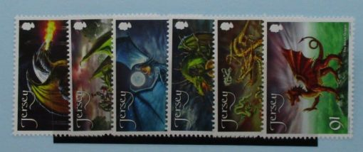 Jersey Stamps, 2015, SG1907-1912, Mint 3