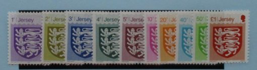 Jersey Stamps, 2015, SG1914-1923, Mint 3