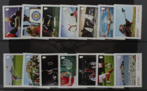 Jersey Stamps, 2015, SG1955-1968, Mint 3