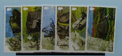 Jersey Stamps, 2015, SG1977-1982, Mint 3