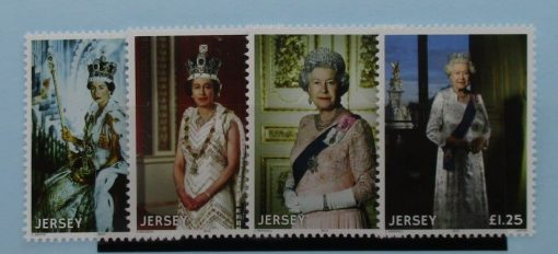 Jersey Stamps, 2015, SG1986-1989, Mint 3