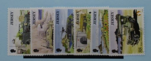 Jersey Stamps, 2013, SG1777-1782, Mint 3