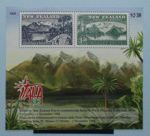 New Zealand Stamps, 1998, MS2214, Mint 3