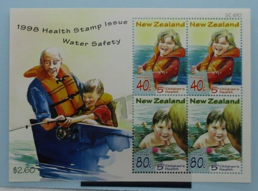 New Zealand Stamps, 1998, MS2180, Mint 3
