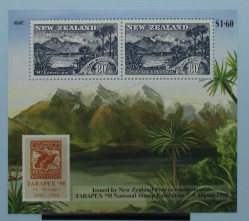 New Zealand Stamps, 1998, MS2188, Mint 3