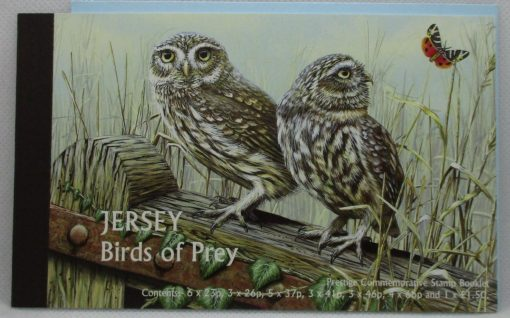 Jersey Stamps, 2001, SB59, Mint 3