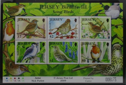 Jersey Stamps, 2009, MS1456, Mint 3