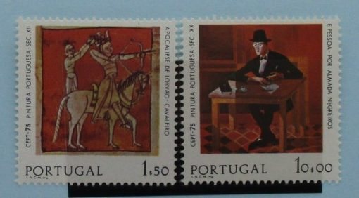 Portugal Stamps, 1975, SG1570-1571, Mint 3