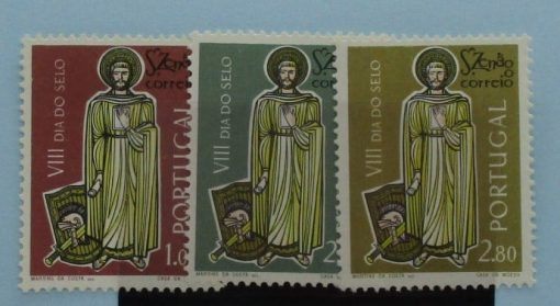Portugal Stamps, 1962, SG1216-1218, Mint 3