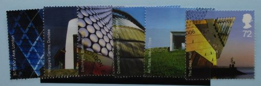 Great Britain Stamps, 2006, SG2634-2639, Used, 3