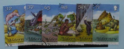 Alderney Stamps, 2007, SGA322-A327, Used 2