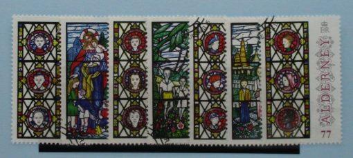 Alderney Stamps, 2015, SGA559-A565, Used 3