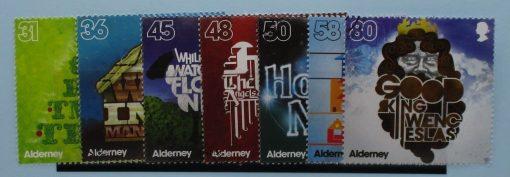 Alderney Stamps, 2010, SGA408-A414, Used 3