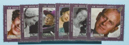 Gibraltar Stamps, 2011, SG1390-1395, Mint 3