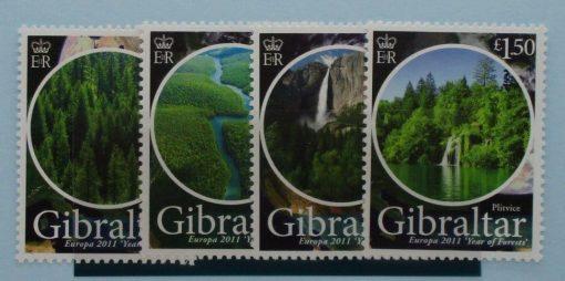 Gibraltar Stamps, 2011, SG1398-1401, Mint 3