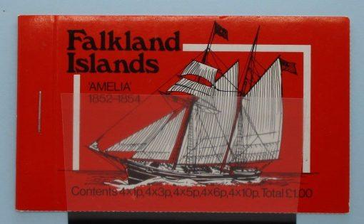 Falkland Islands Stamps, 1980, SB4, Mint 3
