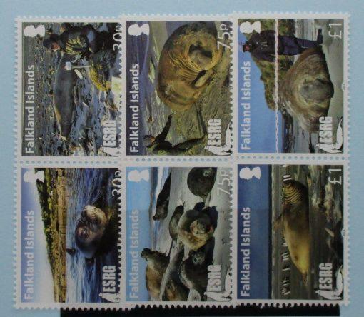 Falkland Islands Stamps, 2015, SG1328a, SG1330a, SG1332a, Mint 3