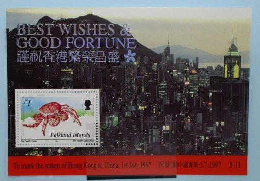 Falkland Islands Stamps, 1997, MS784, Mint 3