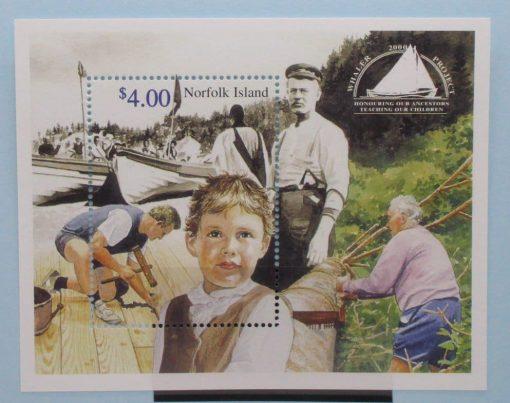 Norfolk Islands Stamps, 2000, MS731, Mint 3