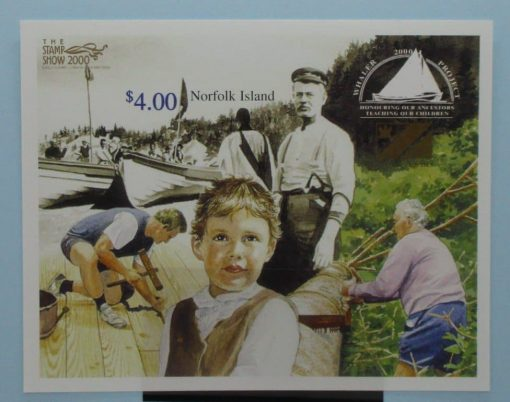 Norfolk Island Stamps, 2000, MS732, Mint 3