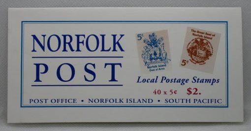 Norfolk Island Stamps, 1997, SB8, Mint 3