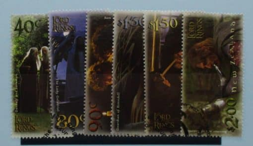 New Zealand Stamps, 2001, SG2458-2463, Used 3