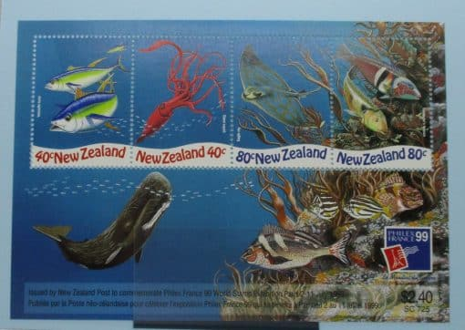 New Zealand Stamps, 1999, MS2277, Mint 3