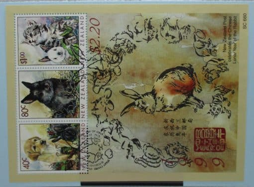 New Zealand Stamps, 1999, MS2238, Used 3