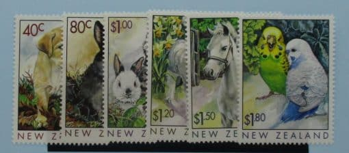 New Zealand Stamps, 1999, SG2232-2237, Mint 3