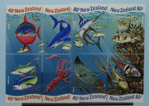 New Zealand Stamps, 1998, SG2206a, SG2210a, Mint 3