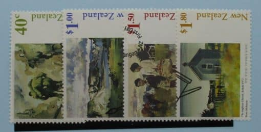 New Zealand Stamps, 1998, SG2174-2177, Used 3