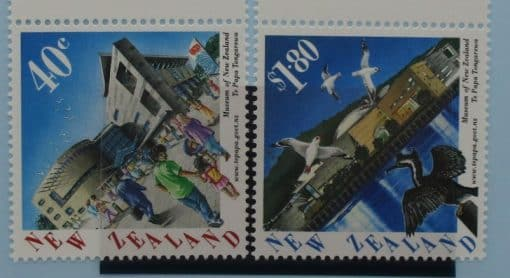 New Zealand Stamps, 1998, SG2131-2132, Mint 3
