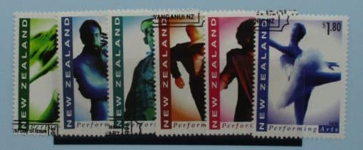 New Zealand Stamps, 1998, SG2124-2129, Used 3