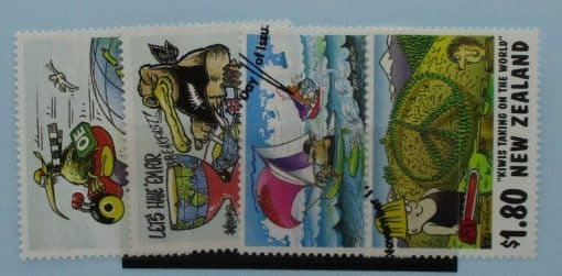 New Zealand Stamps, 1997, SG2118-2121, Used 3