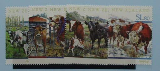 New Zealand Stamps, 1997, SG2043-2048, Mint 3
