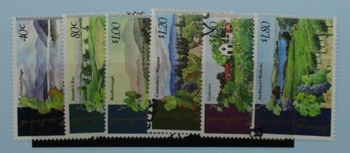New Zealand Stamps, 1997, SG2057-2062, Used 3