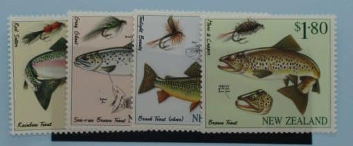 New Zealand Stamps, 1997, SG2082-2085, Mint 3