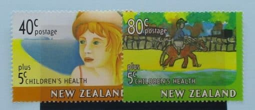 New Zealand Stamps, 1997, SG2086-2087, Mint 3